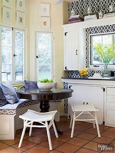 Decorating Ideas For Eat In Kitchen by Breakfast Nook Ideas Better Homes Gardens