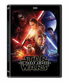 wars the awakens and dvd details