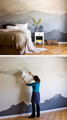 Bedroom Easy Wall Mural Ideas by 34 Cool Ways To Paint Walls Diy Projects For