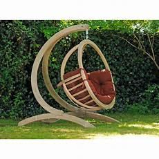 fauteuil suspendu avec support amazonas fauteuil suspendu globo chair terracota avec