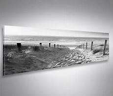 schwarz weiß wandbilder weg zum meer schwarz weiss panorama format bild auf