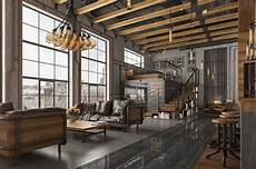 uk industrial loft designed by romas noreika 2016