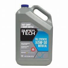 tech synthetic 5w30 motor 5 qt walmart