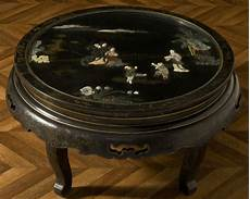 table basse chinoise table basse vintage chinoise laqu 233 e noir incrustations