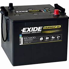 Batterie Exide Equipment Gel 110 Ah Es1200