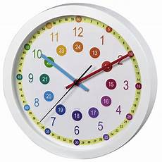 00176917 hama kinder wanduhr quot easy learning quot durchmesser