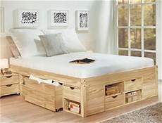 massivholzbett mit stauraum seniorenbett mit bettkasten g 252 nstig auf betten de kaufen