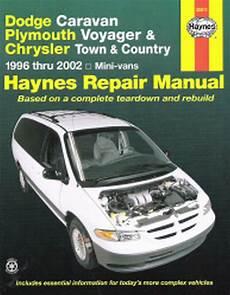 free auto repair manuals 2000 dodge grand caravan electronic valve timing 1996 2002 dodge caravan voyager town country repair manual 2001 2000 1999 4692 1563924692 ebay