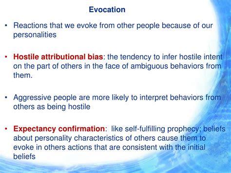 Define Evocation