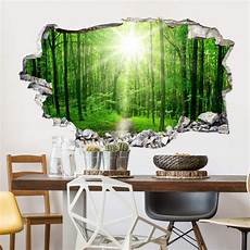 3d wall sticker forest wall
