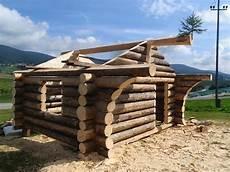 Blockhaus Bauen Anleitung - naturstammhaus blockh 252 tte log cabins building a cabin