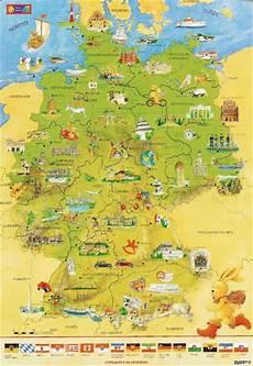 Kinder Malvorlagen Deutschlandkarte Felix Deutschlandkarte Wandkarte Im Kinderpostershop Kaufen