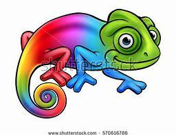 Résultat d'images pour dessin caméléon a imprimer