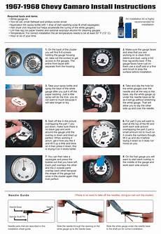 1968 camaro tach wiring 1967 1968 chevrolet camaro firebird dash cluster white gauges 67 68 ebay