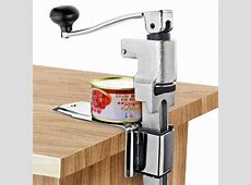 Restaurant Desk Style Can Opener Industrial Table Mount