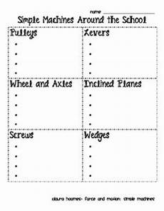 free simple machines mini book first grade pinterest simple machines homeschool and