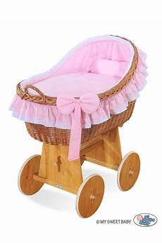 vimini neonato neonato vimini carine rosa