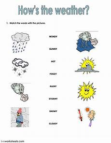 weather worksheets for elementary school 14545 the weather interactive and downloadable worksheet you can do the exercises or