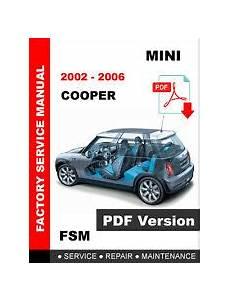 online service manuals 2002 bmw 7 series parking system mini cooper service manual ebay