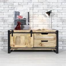 meuble made in meuble tv industriel bois clair 1 porte made in meubles