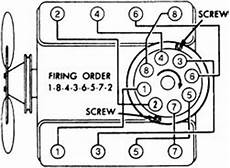 i need a diagram of how the spark plug wire go a 1993 chevy 2500 pickup with a350