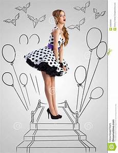 Pinup Stock Photo Image Of Dress Carpet