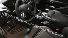 bmw m performance lenkrad mit race display