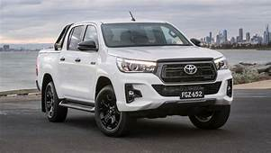 Toyota HiLux Rugged X Rogue 2018 Pricing