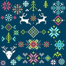 merry christmas pixel vector christmas background pixel vector free download