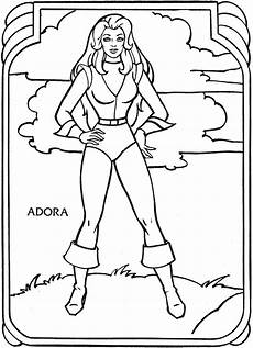 color by number coloring pages 18053 she ra immagini da colorare