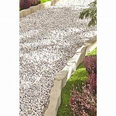 bordure de jardin en beton bordure droite olivette b 233 ton ton h 16 x l 50 cm