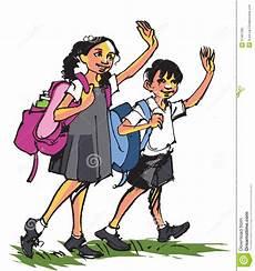 towards school royalty free image 31467365