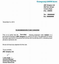 leave aplication leter for us visa schengen visa leave letter sle employee leave noc letter format touryard