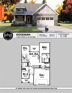 one story craftsman house plans 1 story cottage house plan goodman houses in 2019