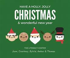 happy holidays the literacy center