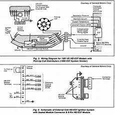 gm dis wiring diagram large cap hei distributor
