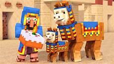 the angry llama minecraft story llama wandering trader minecraft animation