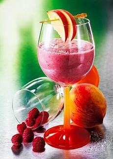 himbeer pfirsich smoothie rezept zum smoothies selber machen
