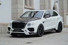 mansory has a new package for the bentley bentayga it