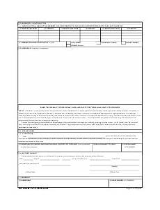 dd form 137 5 download fillable pdf dependency statement
