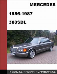 car repair manuals download 1987 mercedes benz sl class electronic toll collection mercedes benz 300sdl w126 1986 1987 factory workshop service manual
