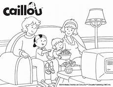 Malvorlagen Caillou Mp3 Activities Caillou