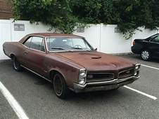 Matching Numbers 1966 Pontiac GTO Hardtop Project  Bring