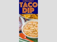 creamy taco dip_image