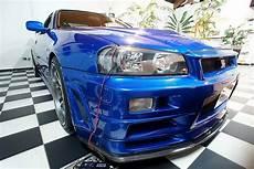 Paul Walker S Nissan Skyline Gt R From Fast Furious 4 Up