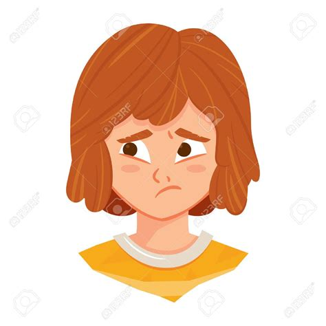 Worried Woman Clipart