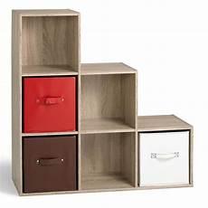 meuble casier en escalier cube de rangement escalier compo 6 cases comparer avec
