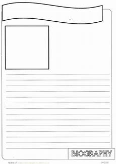 card templates for pages new biography notebook page templates practical pages