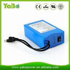 12 volt lithium ion rechargeable battery for cctv