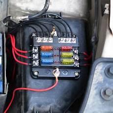 6 Way Car Auto Fuse Box Block Holder Mini Maxi Atc Ato 5